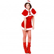 Christmas Costume Mrs Santa Claus dress X-S023